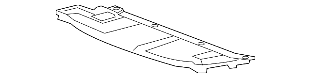 Lower Duct - Honda (71107-T3V-A00)