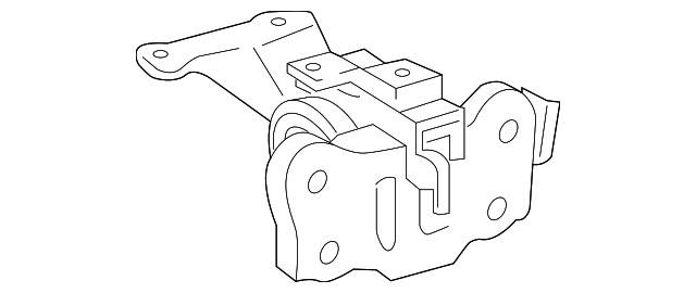 Side Mount - Toyota (12372-37080)