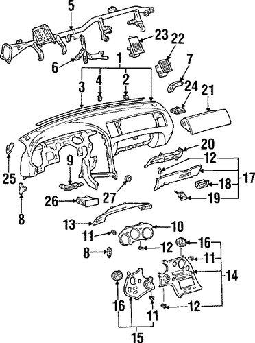 Mount Bracket - Toyota (55376-14060)