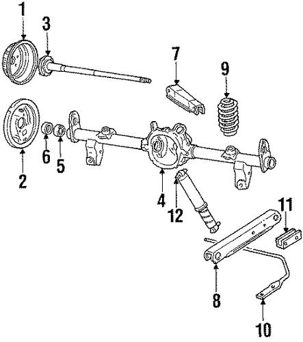 oem rear brakes for 1984 oldsmobile 98