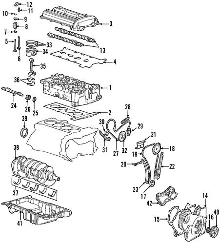 oem oil pan for 2010 chevrolet cobalt gmpartscenter net 06 Chevy Cobalt Engine Diagram 2 2 Liter Chevrolet Engine Diagram