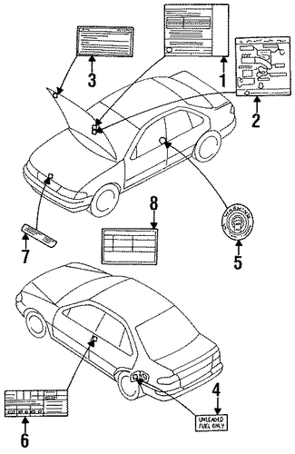 22304 4m000 vacuum diagram for 1998 nissan sentra nissan parts genuine nissan parts and