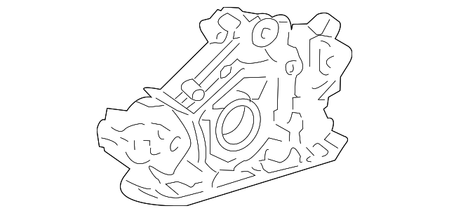 OEM Honda 15100-R72-A02 - Oil Pump