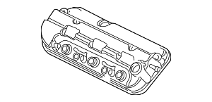 OEM Honda 12310-R70-A00 - Cover Assembly, Front Cylinder Head