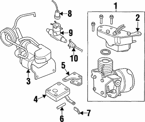 Ride Control Components For 1997 Cadillac Catera