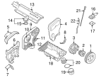 Engine Timing Belt Tensioner - Volvo (30638277)