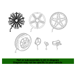 Wheel - Mercedes-Benz (257-401-03-00-7X69)