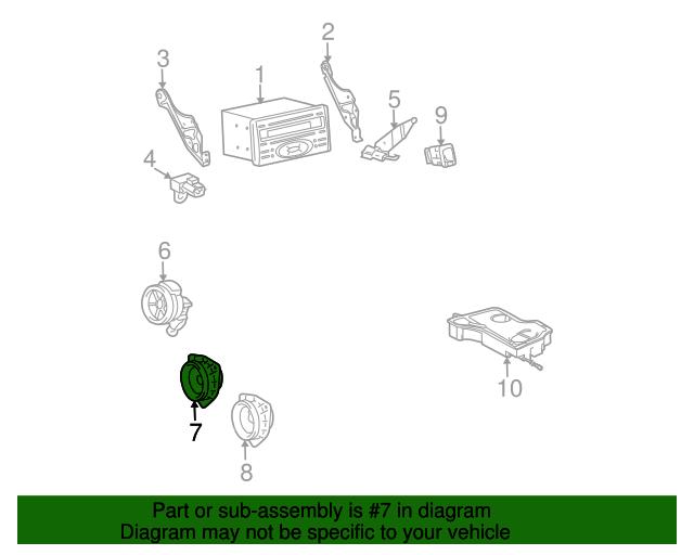 tc 2012 scion pt546 wiring diagram 2004 2016 scion speaker 86160 33620 camelback toyota parts  2004 2016 scion speaker 86160 33620