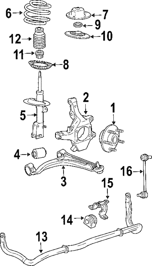 suspension components for 2004 chrysler pacifica #0