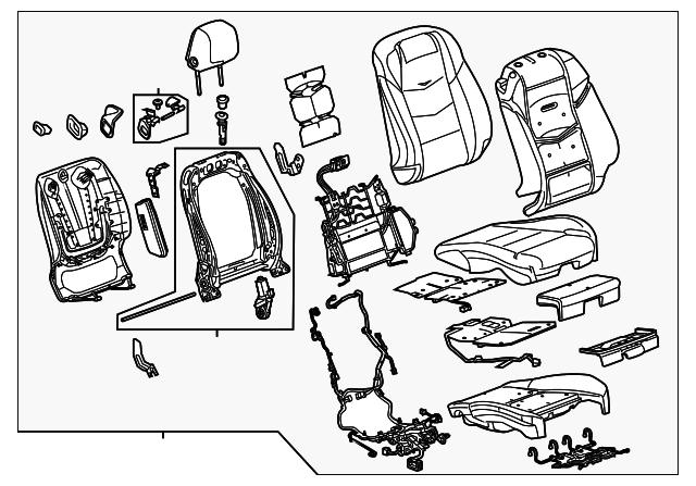 Gm Cadillac Parts Diagram