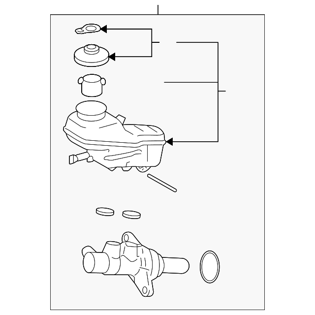 master cylinder assembly gm 19205191 gmpartsnow