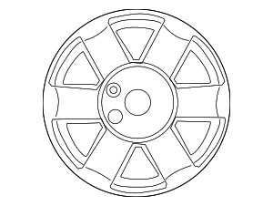 Wheel, Steel - Nissan (40300-1PB0A)