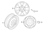 Wheel, Steel - Nissan (40300-1PA0A)