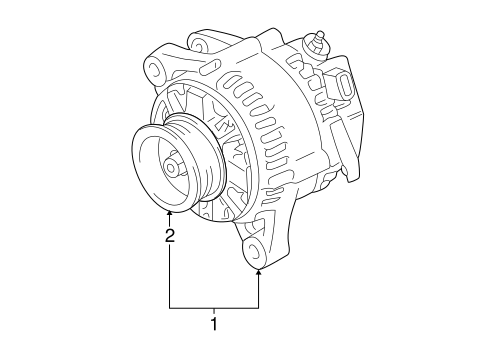 ELECTRICAL/ALTERNATOR for 2006 Toyota Tacoma #1