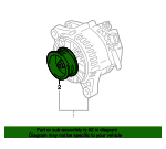 Pulley - Toyota (27411-0P020)