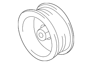 Alternator Pulley - Toyota (27411-0P020)