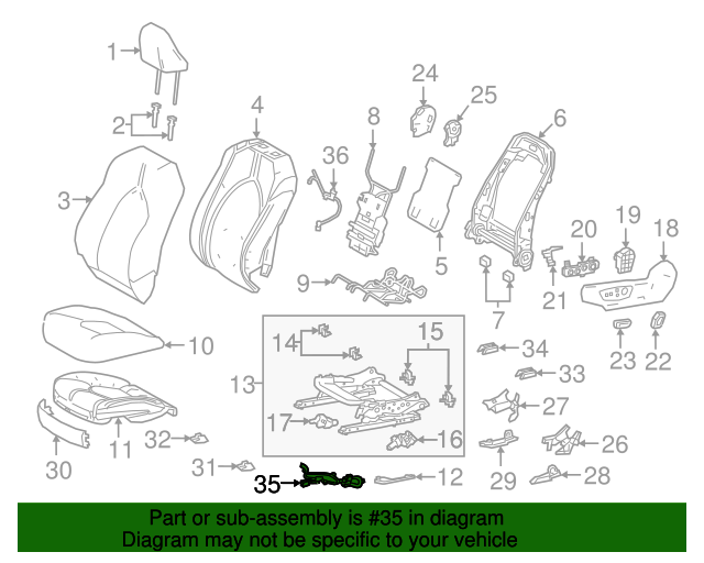 toyota power seat wiring diagram power seat wiring harness toyota  82192 06630  toyota parts  power seat wiring harness toyota