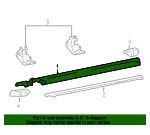 Running Board - Ford (6L3Z-16451-BA)