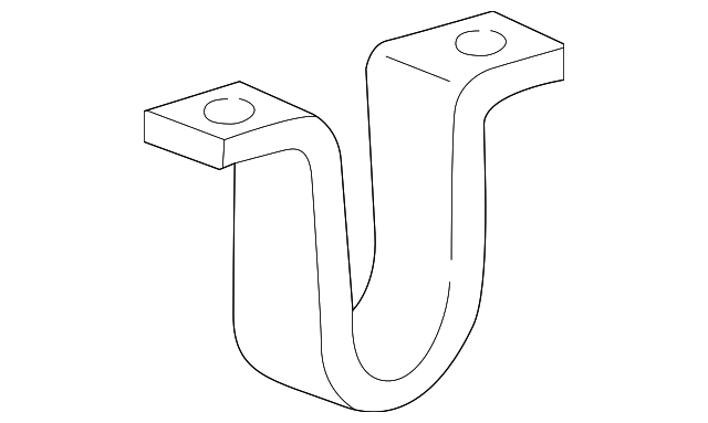 stabilizer bar bracket