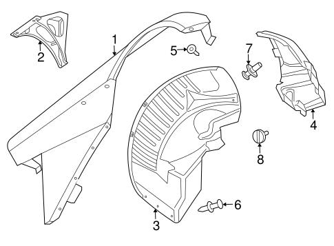 Fender Components For 2005 Dodge Viper