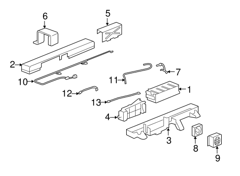 electrical components parts for 2009 saturn vue gm parts. Black Bedroom Furniture Sets. Home Design Ideas