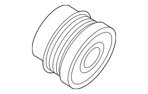 Alternator Pulley - Saab (12803493)