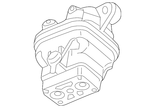 Genuine Mopar Motor Mount 68277081aa