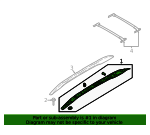 Support Assembly - Roof Rack - Ford (CN1Z-7455141-CC)