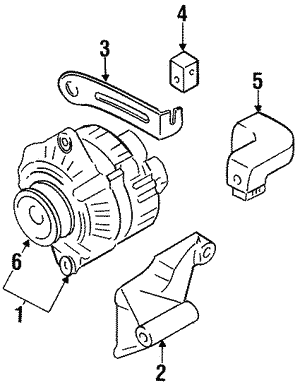Alternator Adjust Bracket