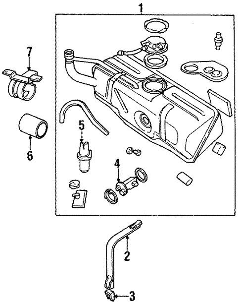 Fuel System Components For 1997 Jaguar Xjr