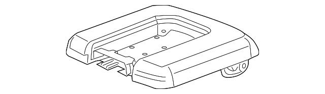 Genuine GM Console Mat 23467144