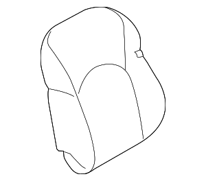 Seat Back Cover - Nissan (87621-4DS8B)