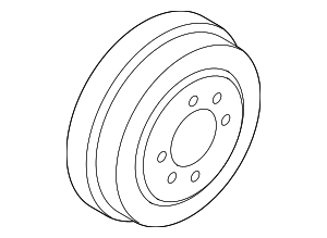 Brake Drum - Nissan (43206-EL00A)