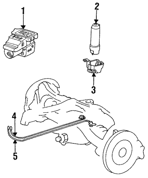 Asr Components for 1994 Mercedes-Benz E 320 #0