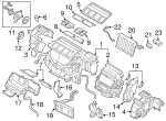 AC & Heater Assembly - Subaru (72100AL22D)