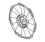 Fan, Cooling - Honda (19020-6C1-A01)
