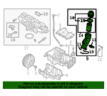 Oil Filter Housing - Land-Rover (LR134525)
