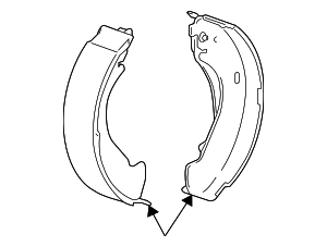 Brake Shoes - GM (25976968)