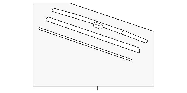 honda blade  windshield wiper  425mm  76630