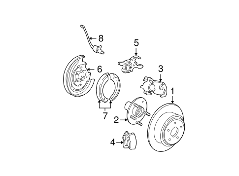 Brakes/Rear Brakes for 2005 Ford Expedition #2