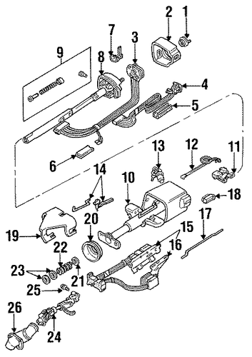 ignition switch rack kit