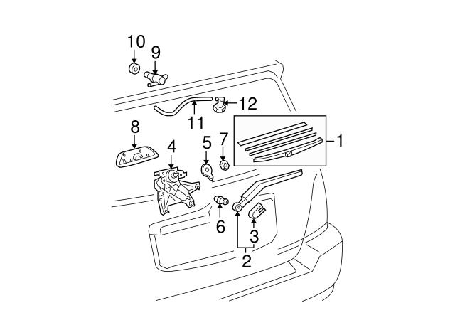 2003 2019 Toyota Washer Pump Bushing 85336 60300