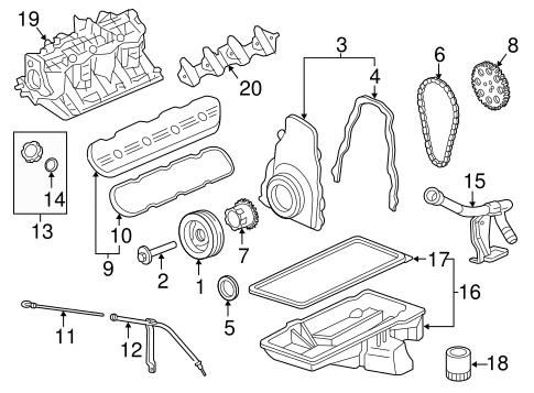 Oem 2013 Chevrolet Express 2500 Engine Parts Parts