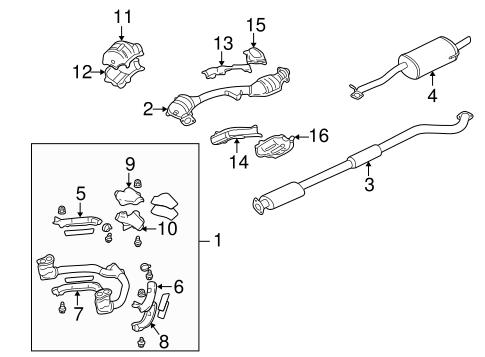 subaru baja turbo wiring schematic exhaust components for 2006 subaru baja subaru parts store  exhaust components for 2006 subaru baja