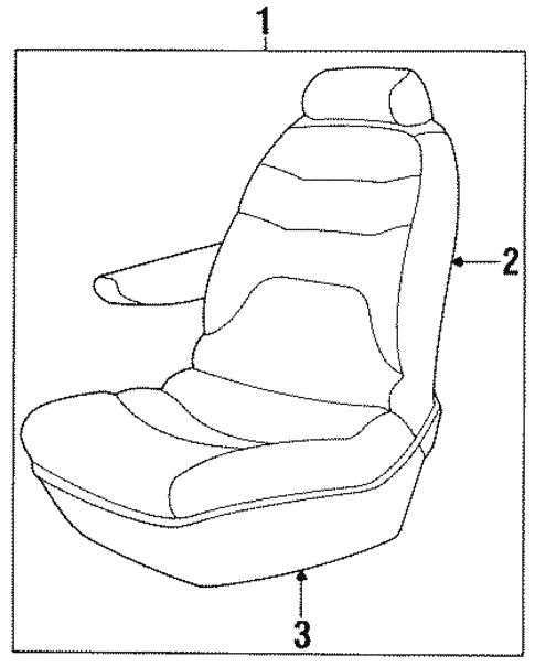 Rear Seat Components For 2000 Dodge Grand Caravan