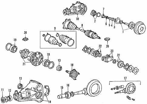 Rear Suspension/Rear Suspension for 1986 Toyota Supra #2
