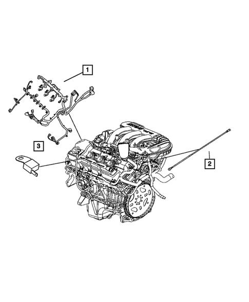 wiring-engine & related parts for 2007 chrysler 300 | mopar estores  mopar estores