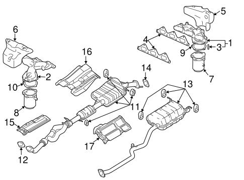 Hyundai Santa Fe Exhaust Diagram