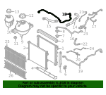 Radiator Hose - BMW (17-12-9-894-743)
