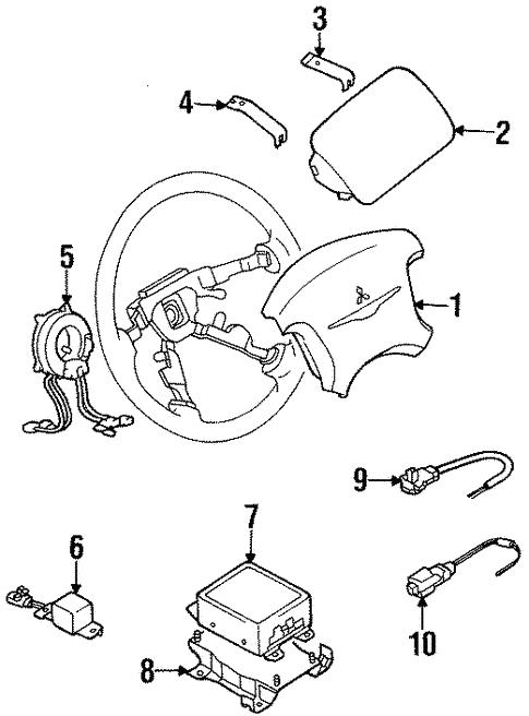 Air Bag Components For 2000 Chrysler Sebring